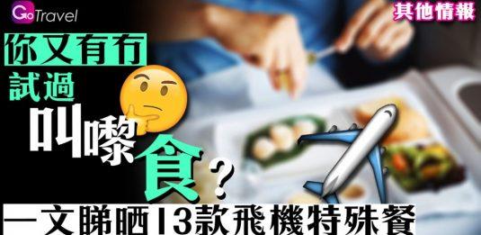 13款飛機特殊餐